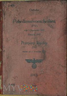 1943 Przepisy ruchu (Fahrdienstvorschriften)