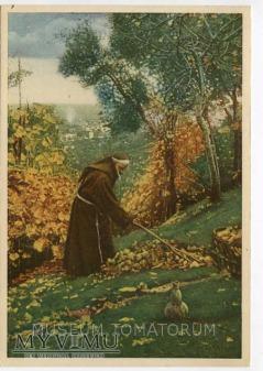 Nono - Monk zakonnik - Grabienie lisci
