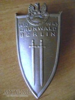 Odznaka Grunwald Berlin 1410 1945