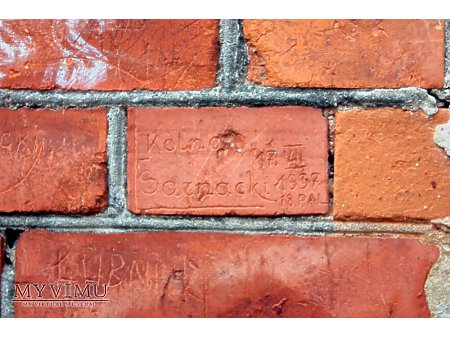 """Duże zdjęcie """"Stara Prochownia"""" - budynek A - inskrypcja #003"""