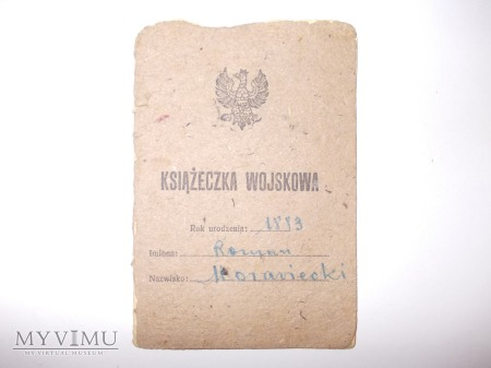 Polska książeczka wojskowa IIRP