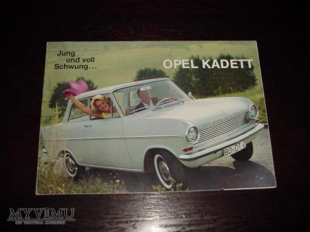 Prospekt OPEL KADETT