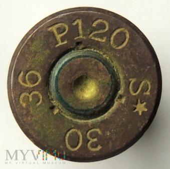 Łuska 7,92x57 P120 S* 30 36