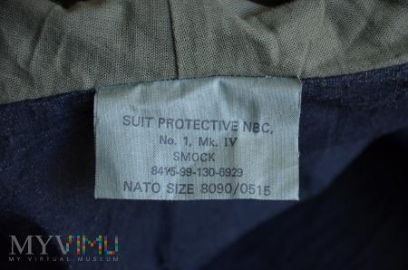 Wielka Brytania - Suit protective NBC, SMOCK