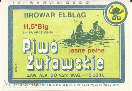 Żuławskie (ZN-84) 0,3L (Logo BB)