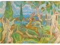 Malarstwo i rysunki na pocztówkach