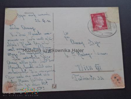 Kartka pocztowa od żołnierza
