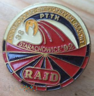 PTTK Starachowice Maj 1992 Rajd Świętokrzyski
