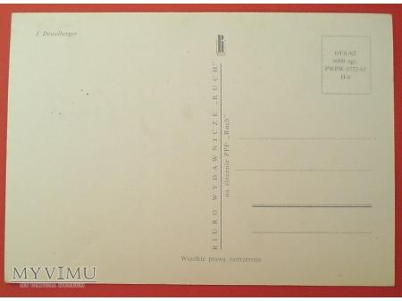 Duże zdjęcie 1963 JELONEK karta Maximum Maksimum