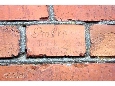"""Duże zdjęcie """"Stara Prochownia"""" - budynek A - inskrypcja #029"""