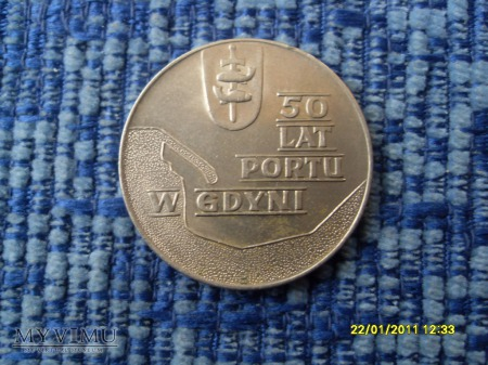 10zł-50 lat portu w Gdyni-1972r.