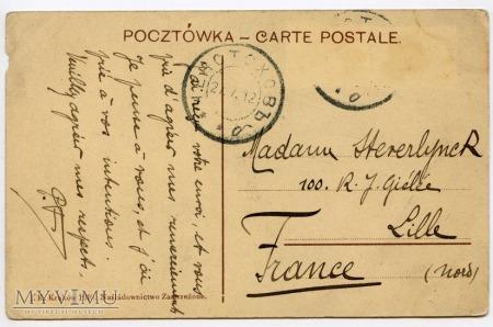 Kraków - Rynek - Kościół Mariacki - 1910