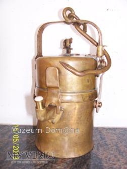 LAMPA GÓRNICZA KARBIDOWA TYP 850 - 1915 rok