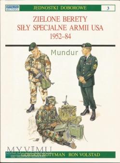 Zielone Berety siły specjalne US Army 1952-84