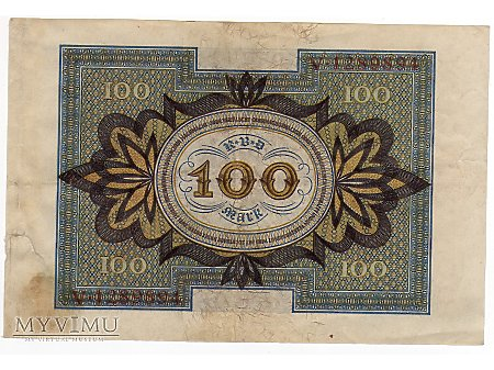 100 Marek 1920 r.