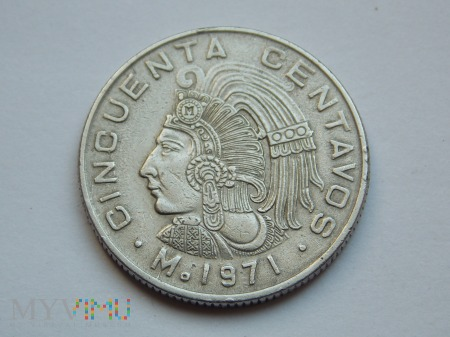 50 CENTAWOS 1971 - MEKSYK