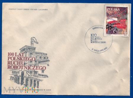 100 Lat Polskiego Ruchu Robotniczego-3.9.1982.b