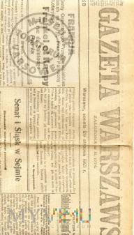 Wystawa Retrospektywna - polemiki prasowe - 1921