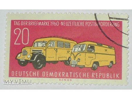 DDR dzień znaczka 1960
