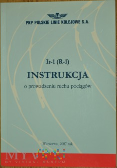 2007 - Ir-1 (R-1) Instrukcja o prowadz. ruchu poc.