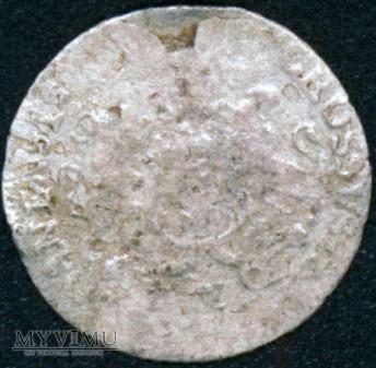 Trojak gdański 1763r