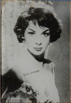 Gina Lollobrigida (czarno-biała)