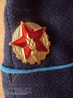 Czechosłowacka furażerka strażacka