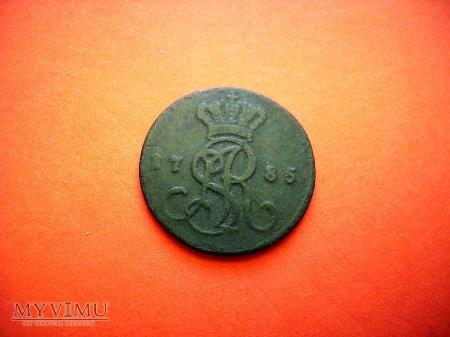 Grosz koronny S.A.R. 1785 E.B.