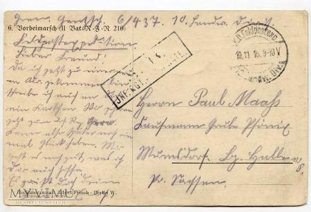 Defilada polowa - 1916