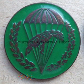 Odznaka spadochronowa WPD 6 PDPD - zielona
