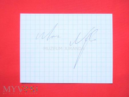 Marcin Najman - autograf