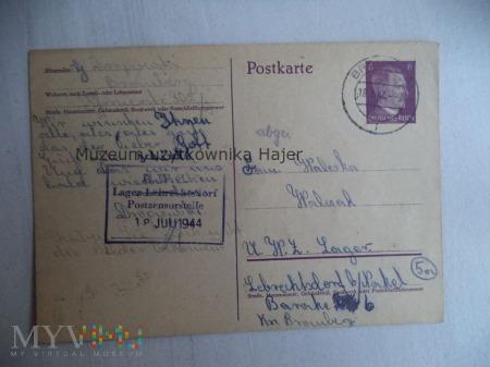 Lager Lebrechtsdorf Obóz w Potulicach Potulitz