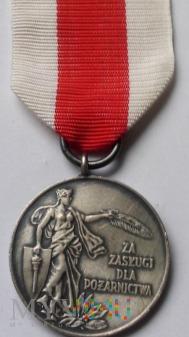 Medal Za Zasługi Dla Pożarnictwa - ZW ZOSP srebrny