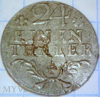 Fryderyk II Wielki 1740-1786-24 część talara 1783