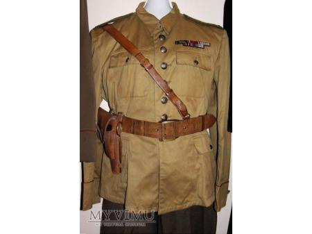 Duże zdjęcie Mundur oficerski polowy letni - drelichowy
