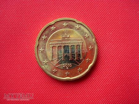 20 euro centów - Niemcy