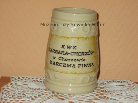 Kufel KWK Barbara-Chorzów Karczma Piwna