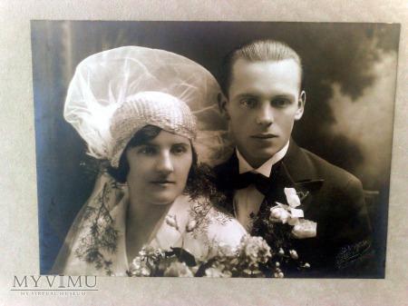 Fotografia ślubna, lata 20. XX wieku