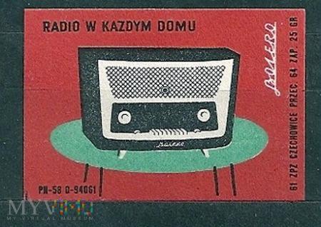 Radio w każdym domu.2.1961.Czechowice