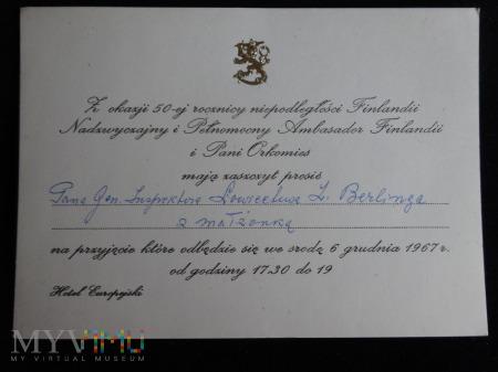Zaproszenie dla Generała Berlinga - RR