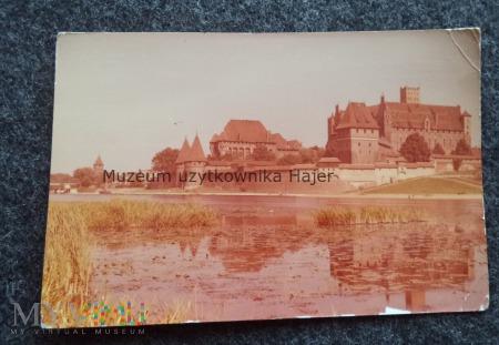 MALBORK Zespół zamku pokrzyżackiego od strony