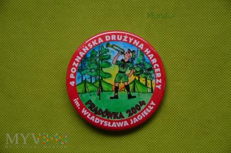 """Plakietka """"Prądówka 2004"""""""