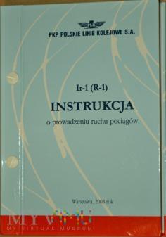 2008 - Ir-1 (R-1) Instrukcja o prowadz. ruchu poc.