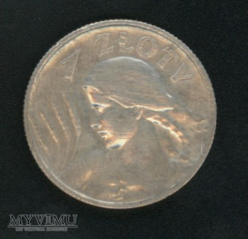 1 złoty 1925 (z kropką)