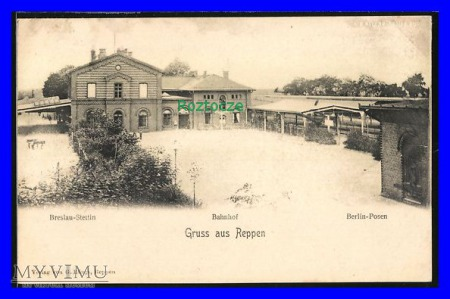 RZEPIN Reppen, Dworzec kolejowy