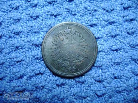 1 pfennig 1885