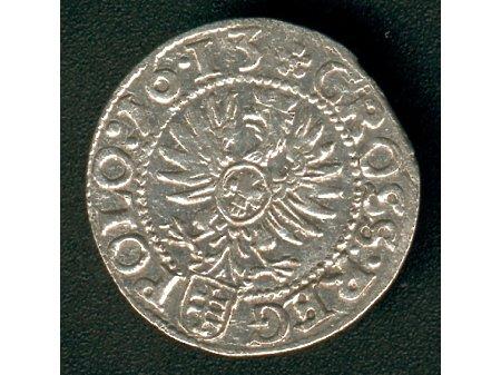 Grosz mennica Kraków- 1613 r- ładny