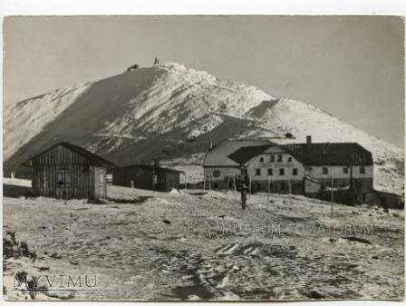 Karkonosze Śnieżka Schneekoppe 1962