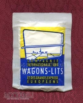 Cukier w saszetkach - Francja - wagon sypialny