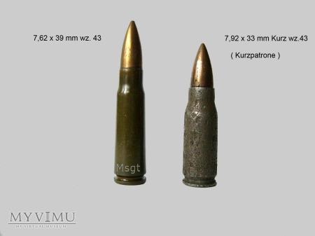7,92 x 33 mm Kurz